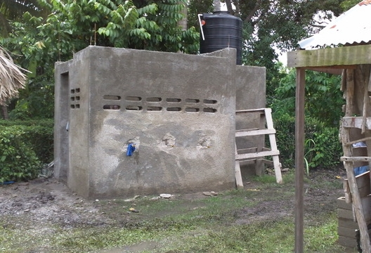 Finished Water Well in Haiti