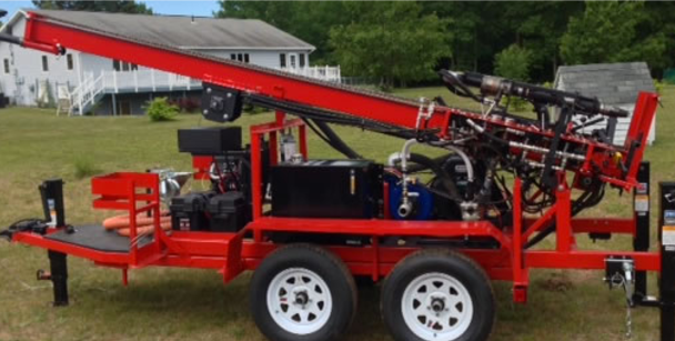 Photo of a Drilling Rig Needed for Future Wells