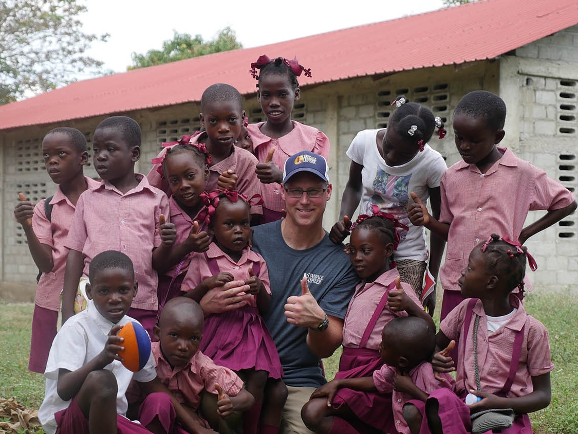 Mark from Turning Point Missions with Haiti Children