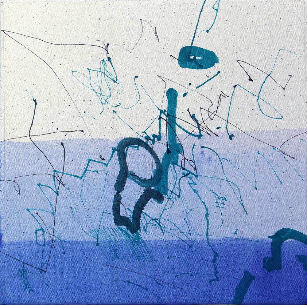 Ernesto García Sánchez    Secondary Effects , 2016 Installation, Acrylic / Canvas Variable Sizes