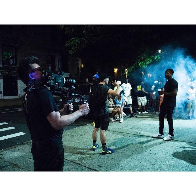 Roz 'Going Crazy' ||| #bts 📸: @tarankim • • • #itsjustroz #harlem #harlemmusic #rozzyroz #musicvideo #btsmusicvideo #firesly #fireslymedia