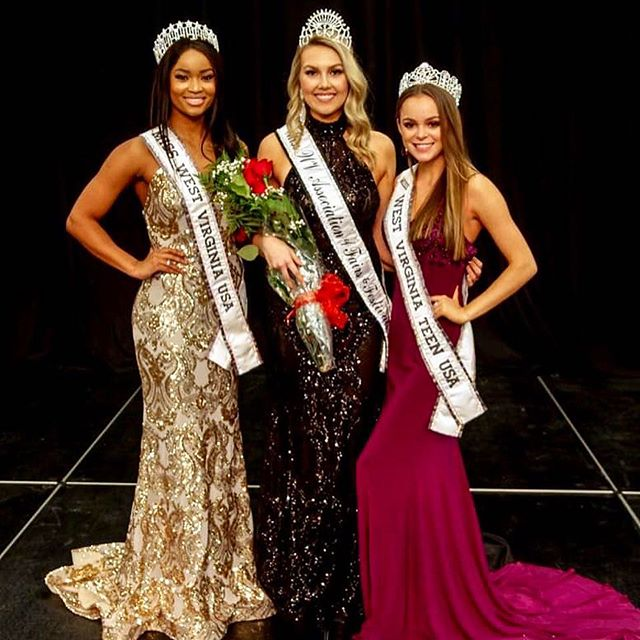 When you have a new sister join the West Virginia sisterhood you of course are ALL rocking @oliveriosboutique gowns! 😉 Thank you so much @pageantassociates and @wvaff for having @misswvteenusa and I attend our states largest pageant! @lexiiibland and I competed in Miss West Virginia USA this year and she was in the top 5 with me. So for her to turn around and slay the stage to capture this title was no shock to me at all!  Congratulations again beautiful and so happy to have you representing all of the Fairs and festivals of WV this year!  Major shout out to @oliveriosboutique for always... I mean always dressing me for all my appearances in sensational gowns! I had people all weekend complimenting my outfit and where I got it! Everyone please follow the store and stop in as they have a huge selection of gowns for all occasions! Tell them I sent ya 😘