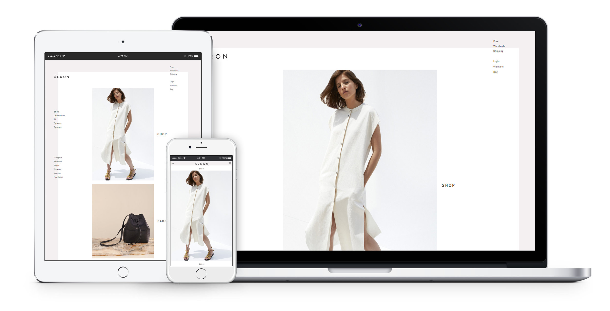 Mobile first methodology optimized for all platforms