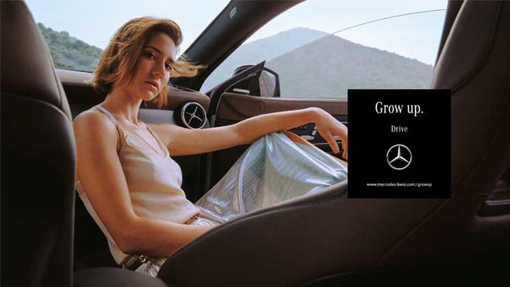 Mercedes-Benz - Grow Up, 2017  Advertising agency: Antoni GmbH Photographer: Alice Moitié