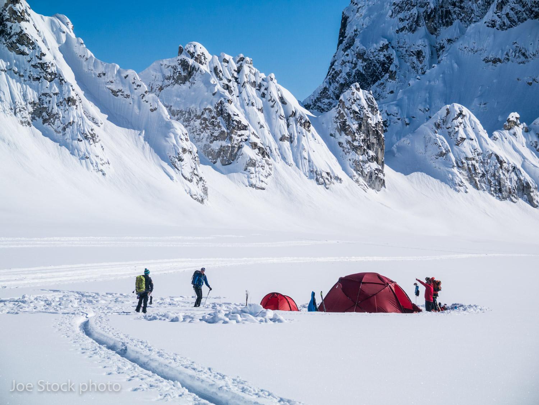 Denali SkiBase Camp -