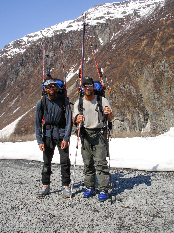The scenic Valdez rock quarry and shooting range!