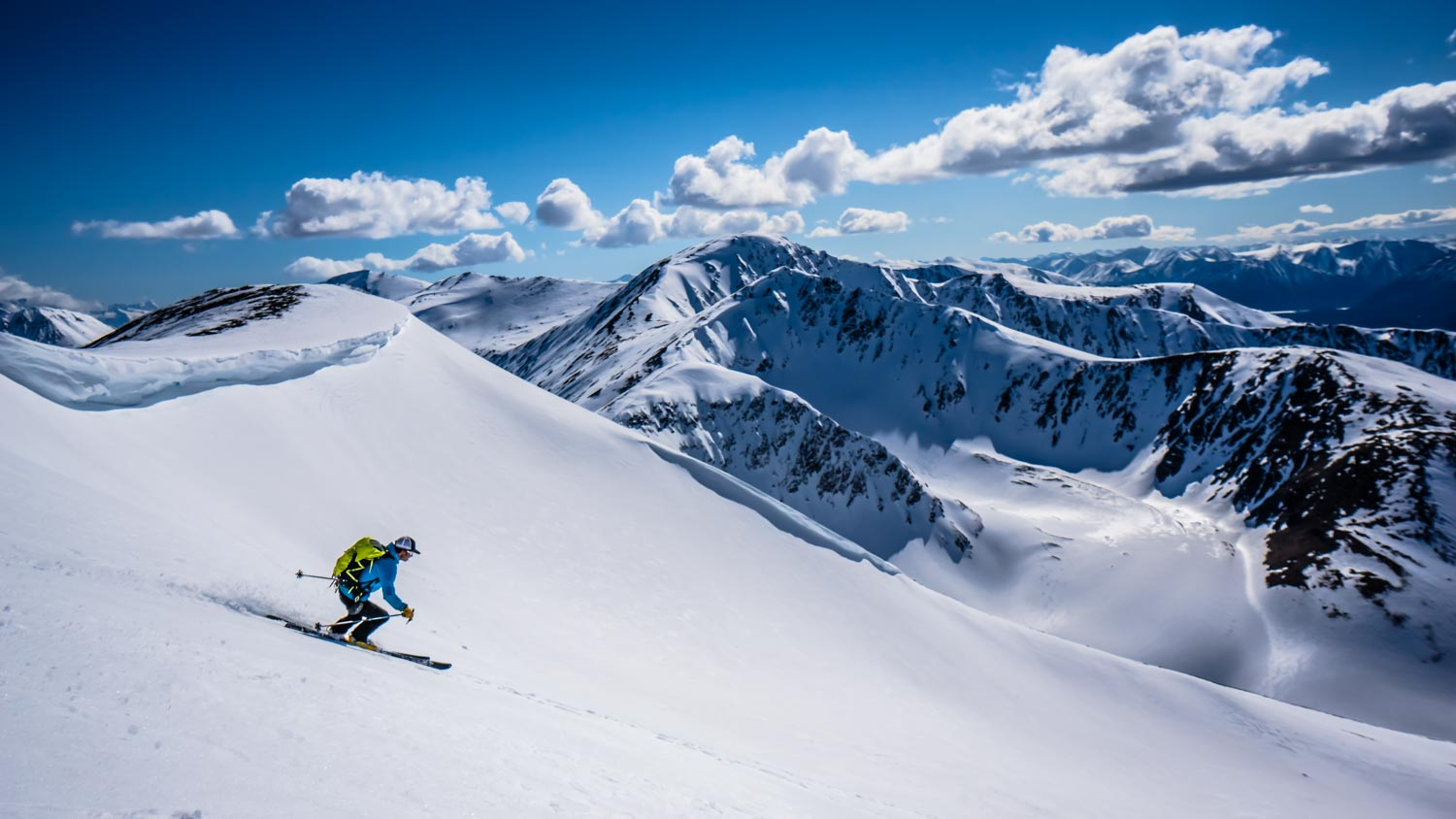 Joe test-driving the Synapse at Summit Lake, Kenai Mountains, Alaska. Photo by Dustin Leclerc.