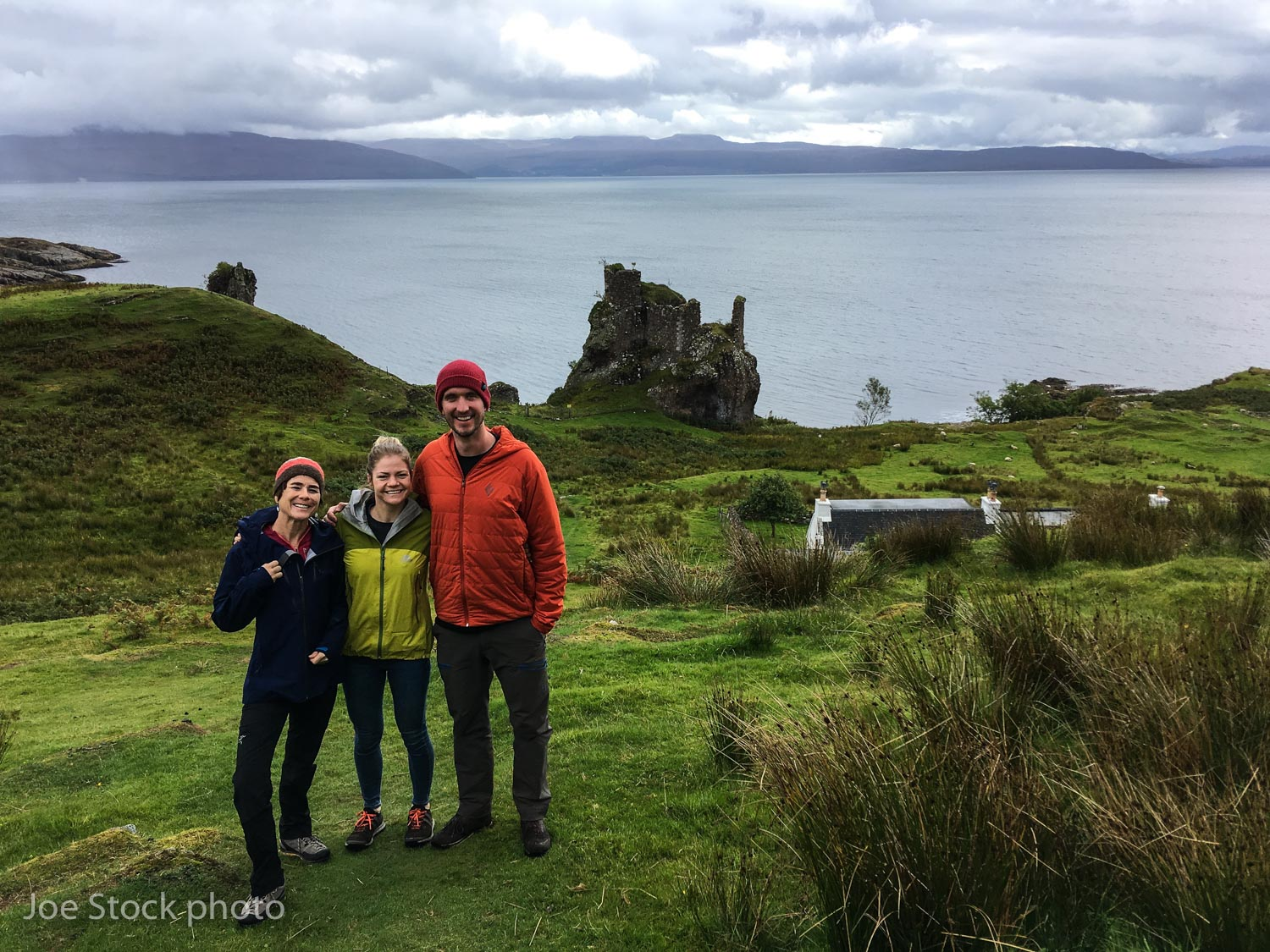 Scotland with Al and Becca! We've been on two Alaska Range ski trips and a Mont Blanc trip together. Amazing fun beautiful people. Becca's parents have a place on Rassay, an island off the Isle of Skye. What a place! Thanks Al and Becca!