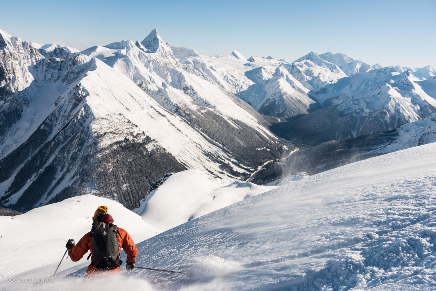 Simon Meis at Roger's Pass. Cathy and I spent February based in Revelstoke. I worked a bit but mostly skied with Cathy. It's the most we've skied together in 10 years. That's good for marriage maintenance.