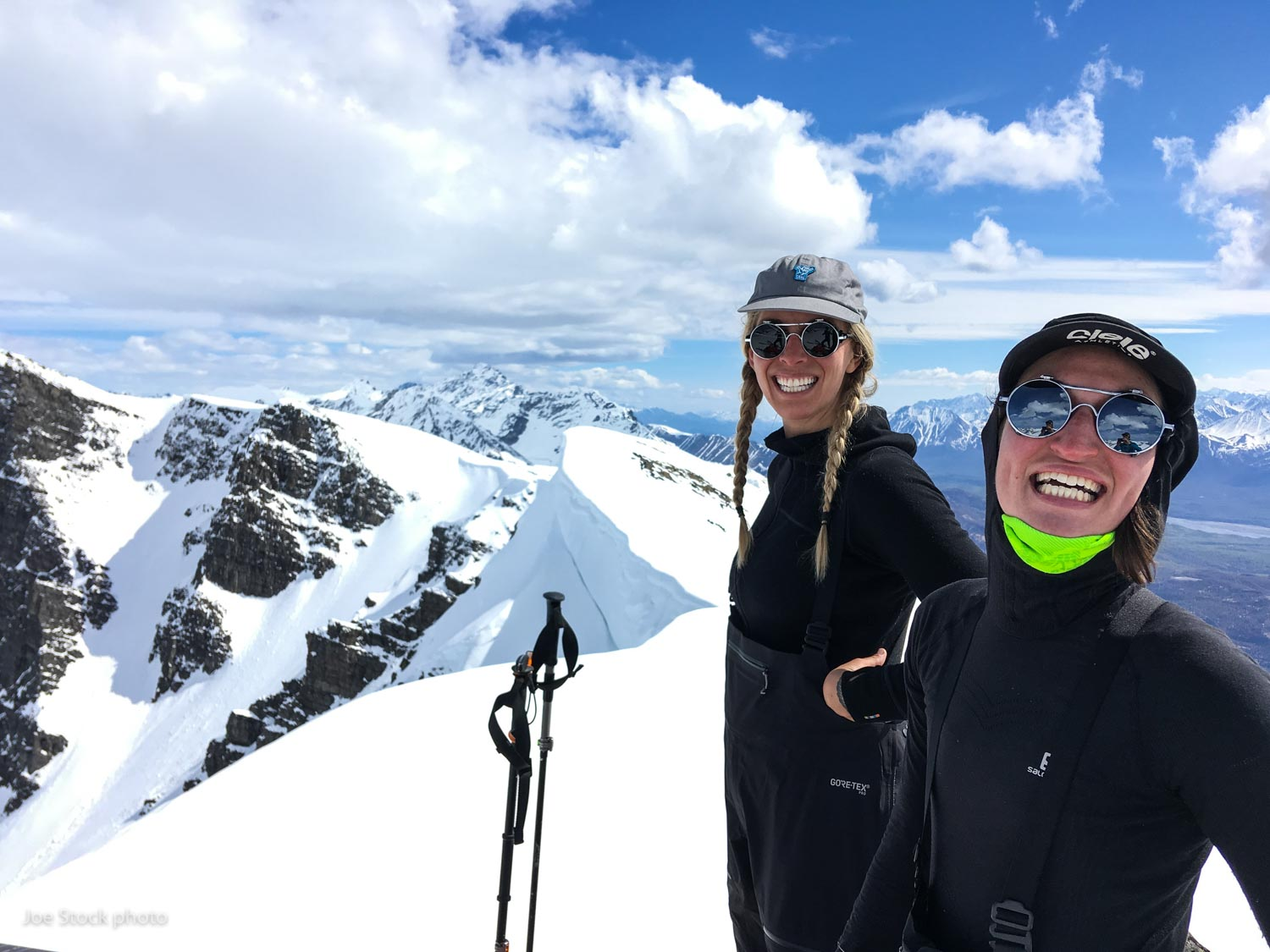Amanda Hankison and Trish Franco on a four-day ski mountaineering and Denali prep course. Good luck on your expedition!  Thanks everyone sooooo much for an amazing winter! I hope to ski with all of you again soon!