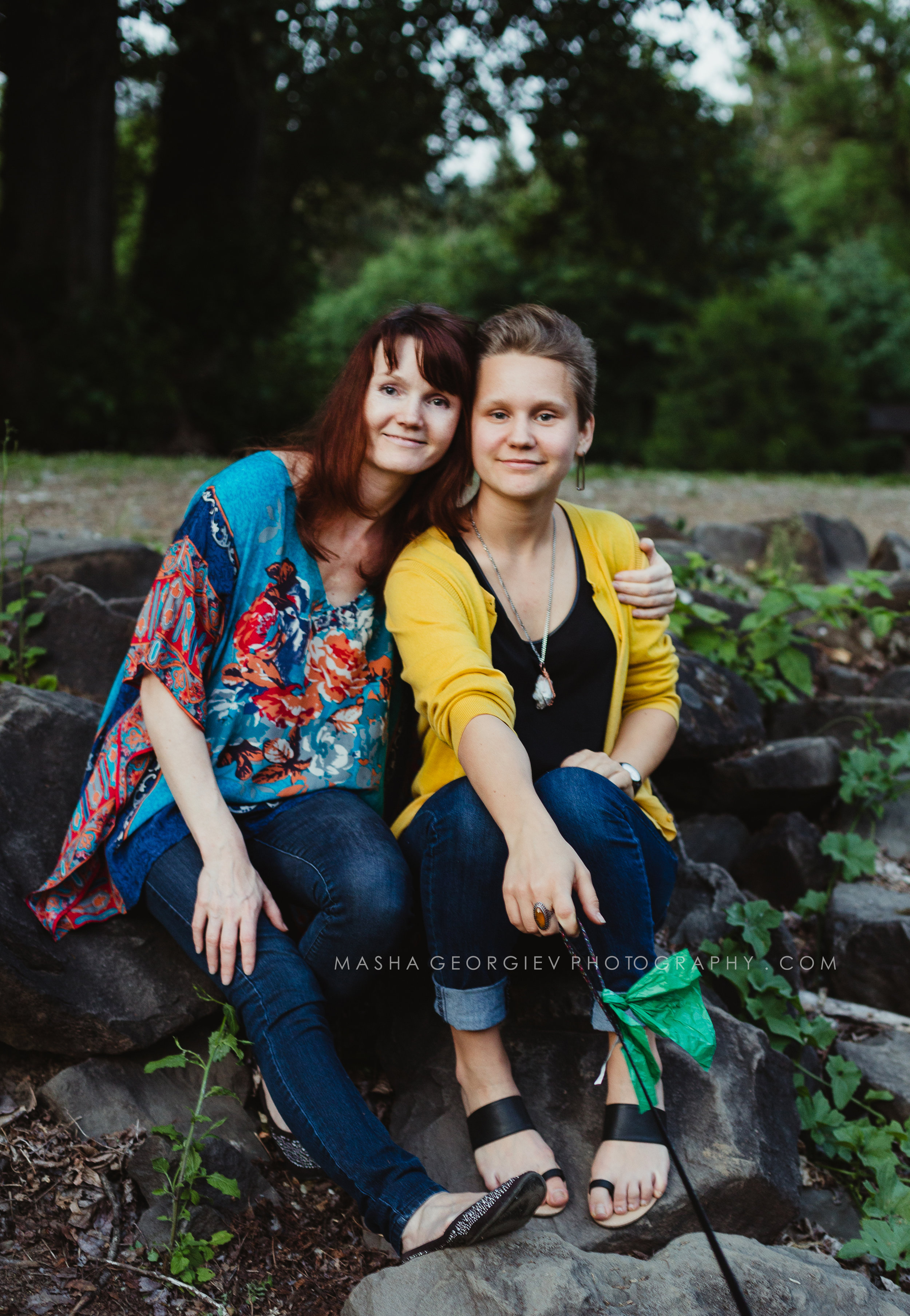 Portland Mother Daughter Photographer Masha Georgiev