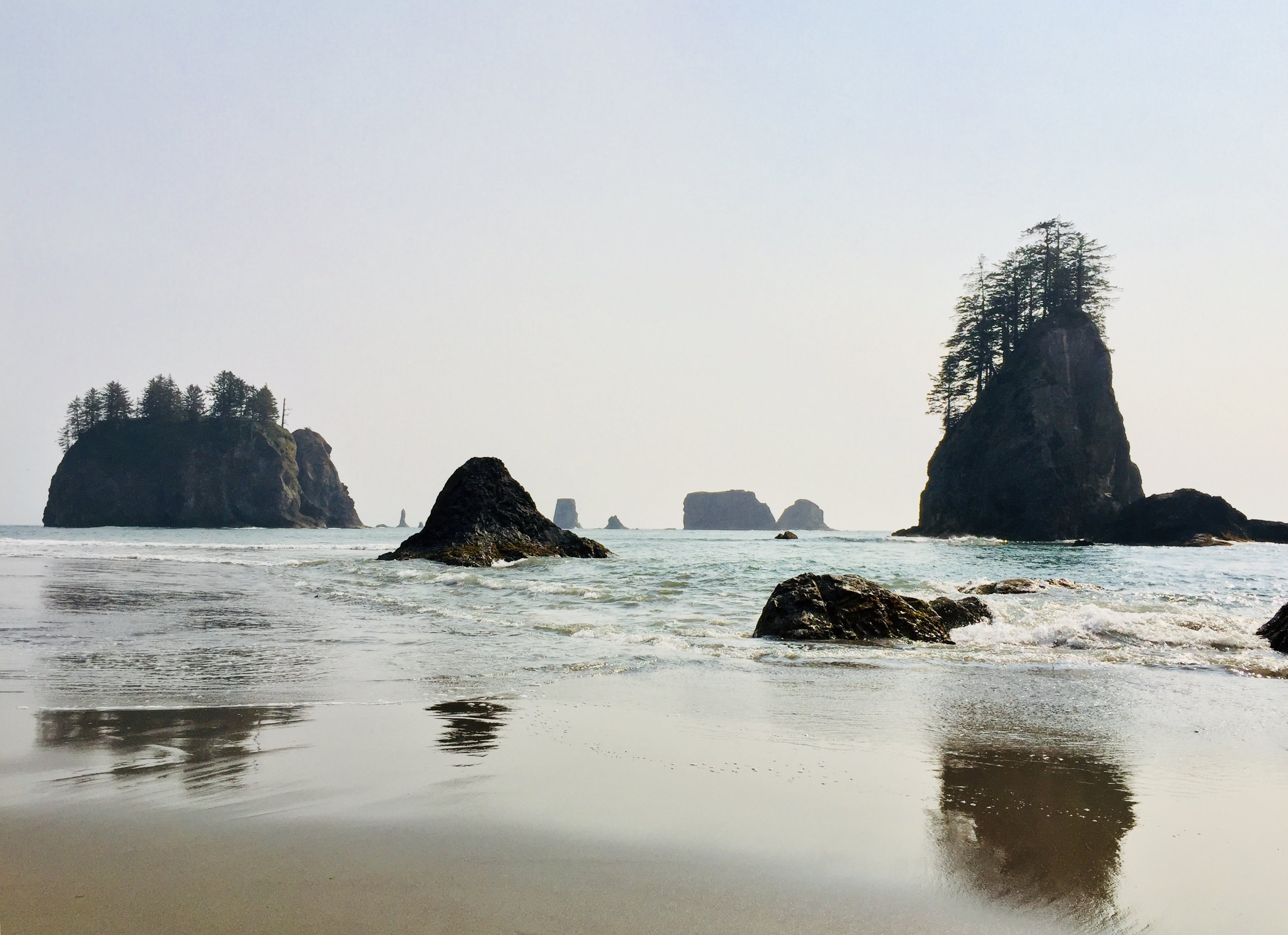 LA PUSH SECOND BEACH, QUILEUTE NATION, WASHINGTON