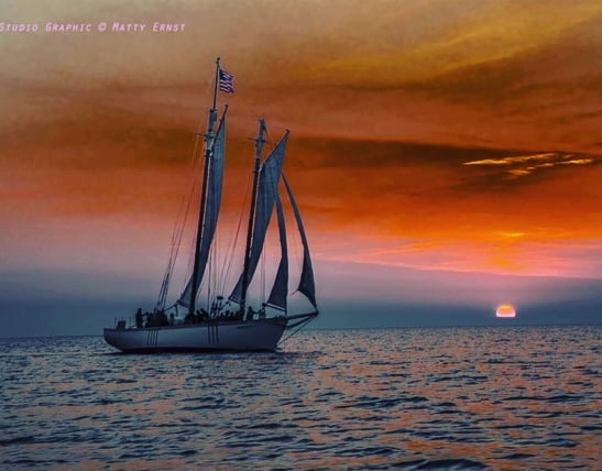 Can you imagine yourself aboard watching the sunset in Door County this summer?  We can and we CAN'T WAIT!  #IsItSummerYet #SunsetSailing #Sunset #DoorCountySunset #DoorCounty #doorcountywi #SisterBay #Sailing #SailingAdventure #⛵ #SailingLife #SisterBayMarina #SummerIsComing