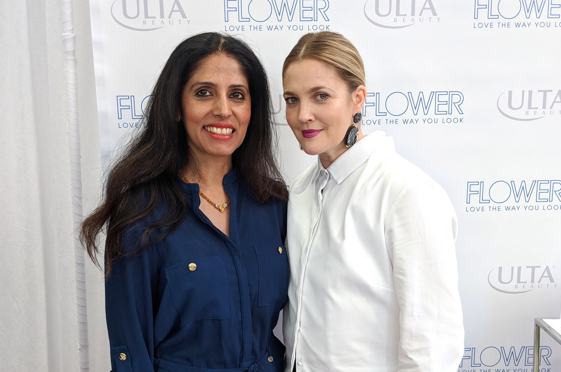 BRAND REPRESENTATION OF FLOWER BEAUTY BY DREW BARRYMORE FOR INDIA