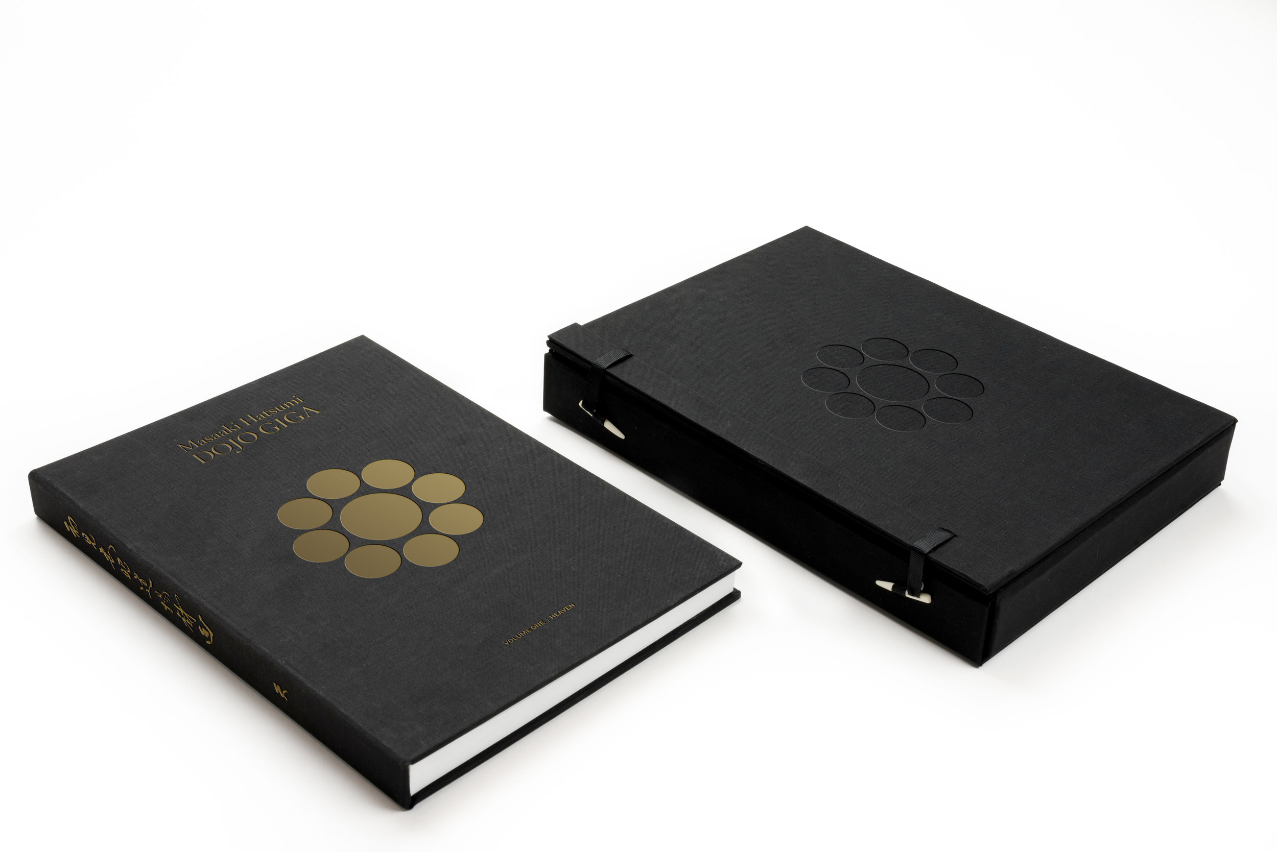 The Collector Edition comes with a traditional Japanese book box with a blind emboss to match the cover of the book.