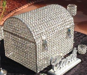 Crystal Card/Money Box  $75