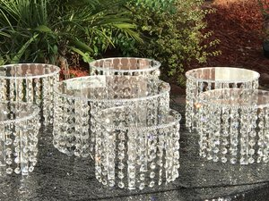 Crystal Risers  from $20