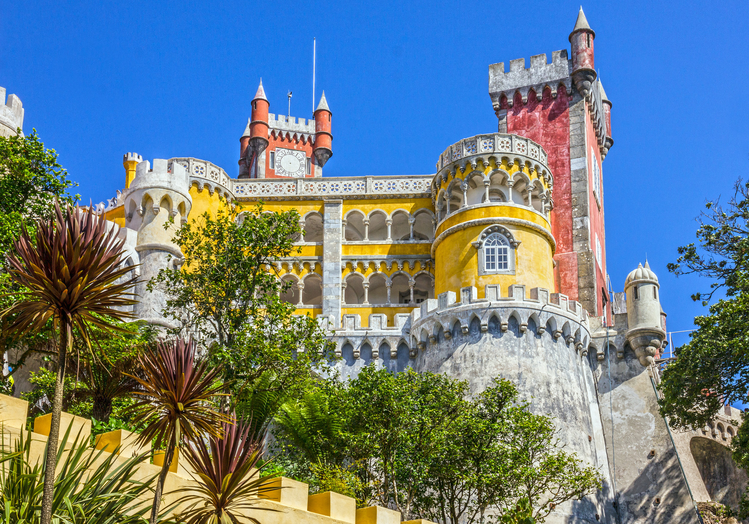 Half Day Tour To Palácio da Pena - Thursday February 27, 2020 Beginning around 2pm and finishing up at sunset.The tour will include a stop a the Palace, Sintra, Cape Roca (western most point of Europe), Cascais (depending on time) and then back to the HotelPrice for this optional excursion is $45.00 USD per person.Requires a minimum of 35 persons / bus.