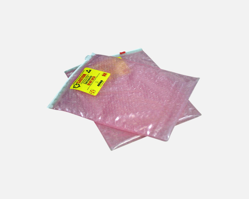Pink Anti-Static Cushion Pouch