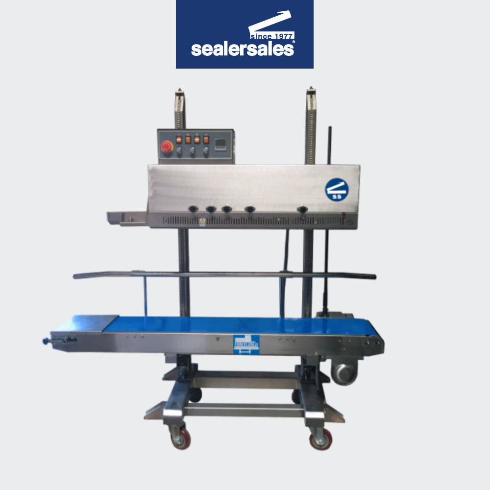 - We are excited to introduce a couple of products in both equipment and flexible packaging product line.Our popular FRM-1120LD band sealer now comes in a left to right configuration. Many production lines are built to specific line directions and having a machine that feeds the wrong way can cause unnecessary costs and headaches.   Now, no matter what direction your production line feeds, our FRM-1120LD band sealer can work for you to help you achieve the efficiencies in your production line.
