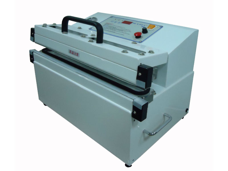External Vacuum Sealers - External Vacuum Sealers In an external vacuum sealer, your product remains outside of the vacuum sealer and a vacuum pump extracts air from a small vacuum cavity.