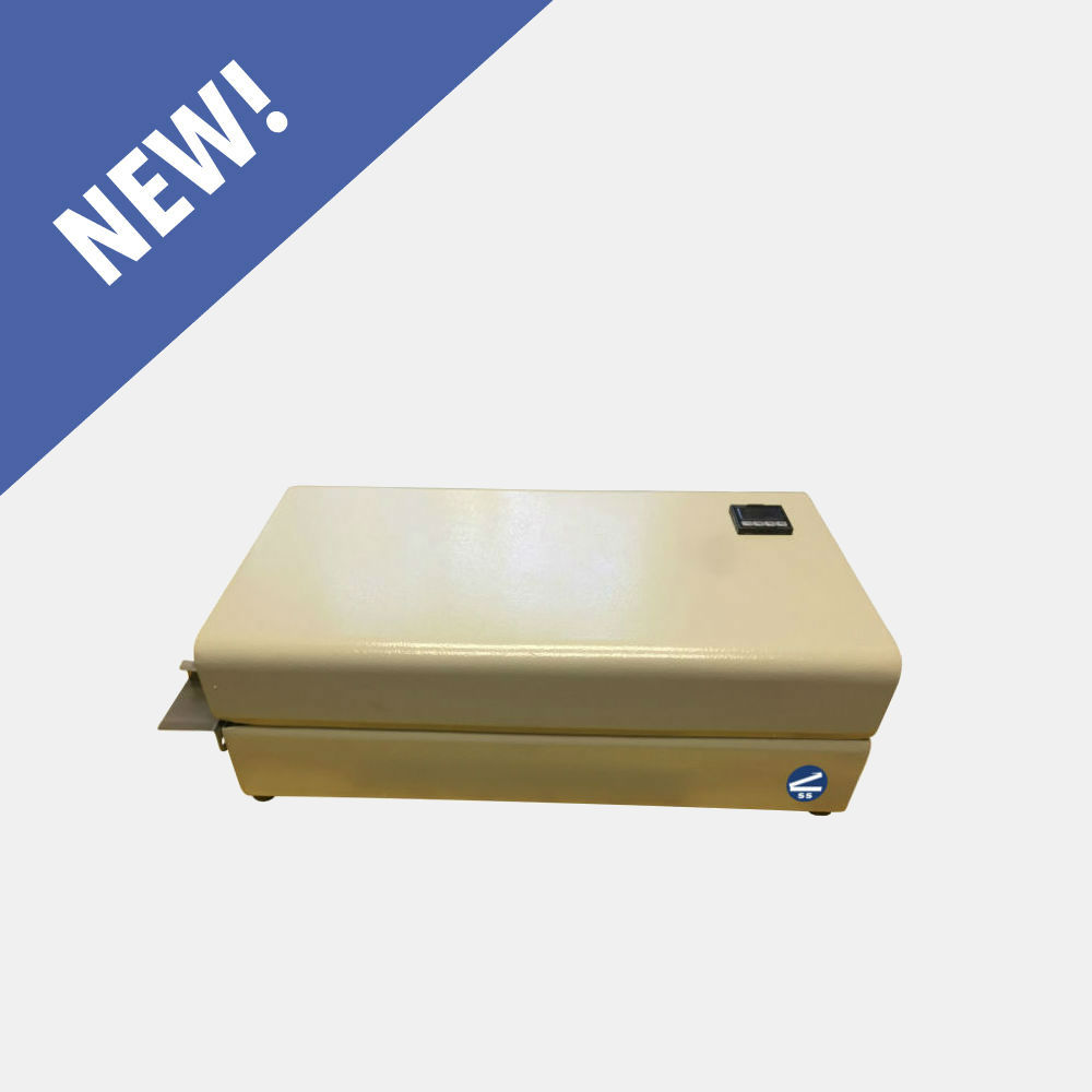 HRS-255 - Our newest addition to our band sealer family is the HRS-255 rotary band sealer.