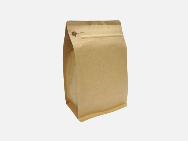 2lb (900g) Square Bottom Bag w/ E-Zip