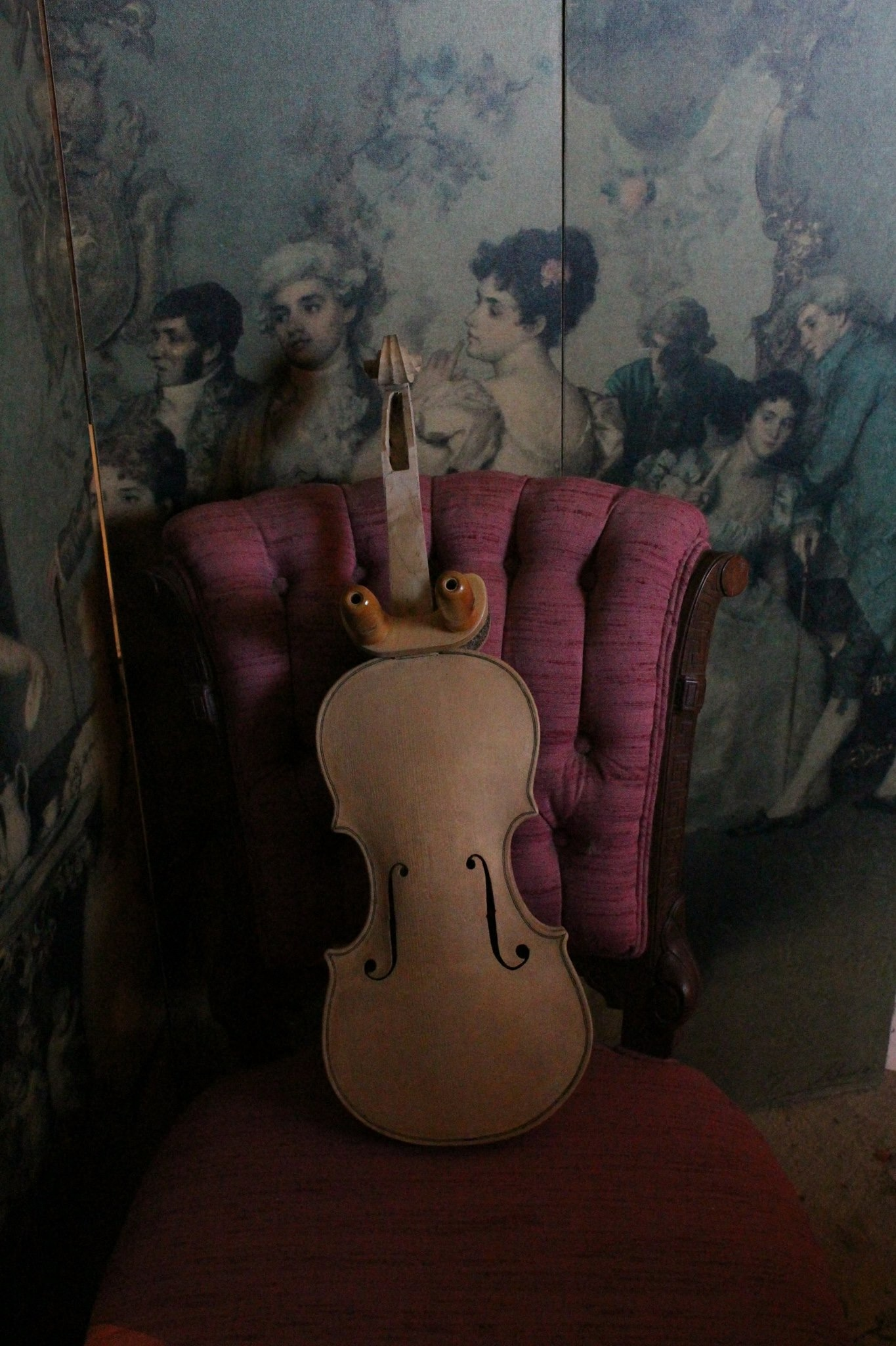 Houck original model violin.