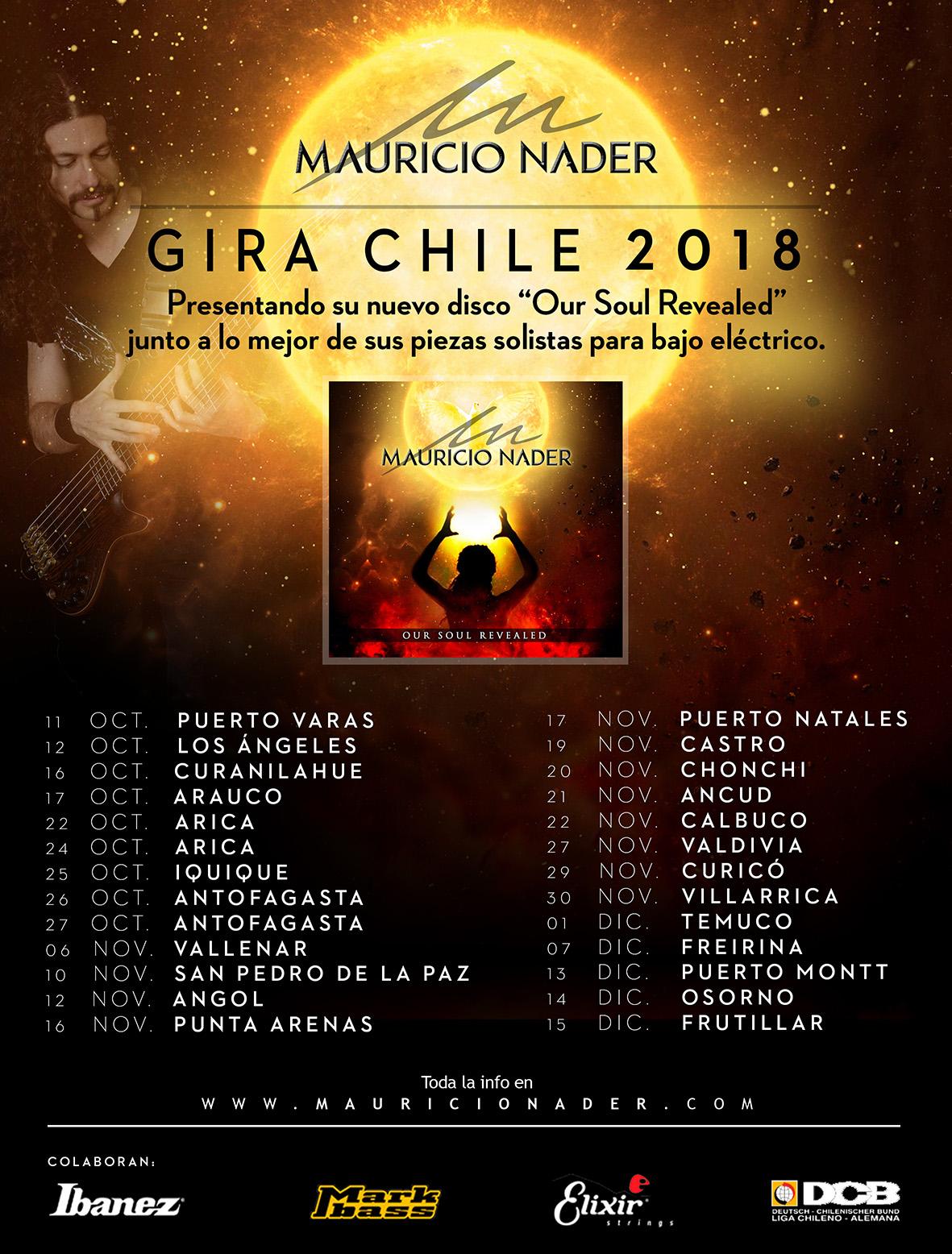 Gira Chile 2018