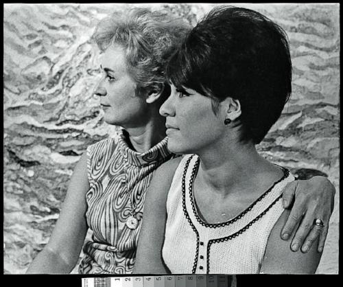 June Wayne and Her Daughter