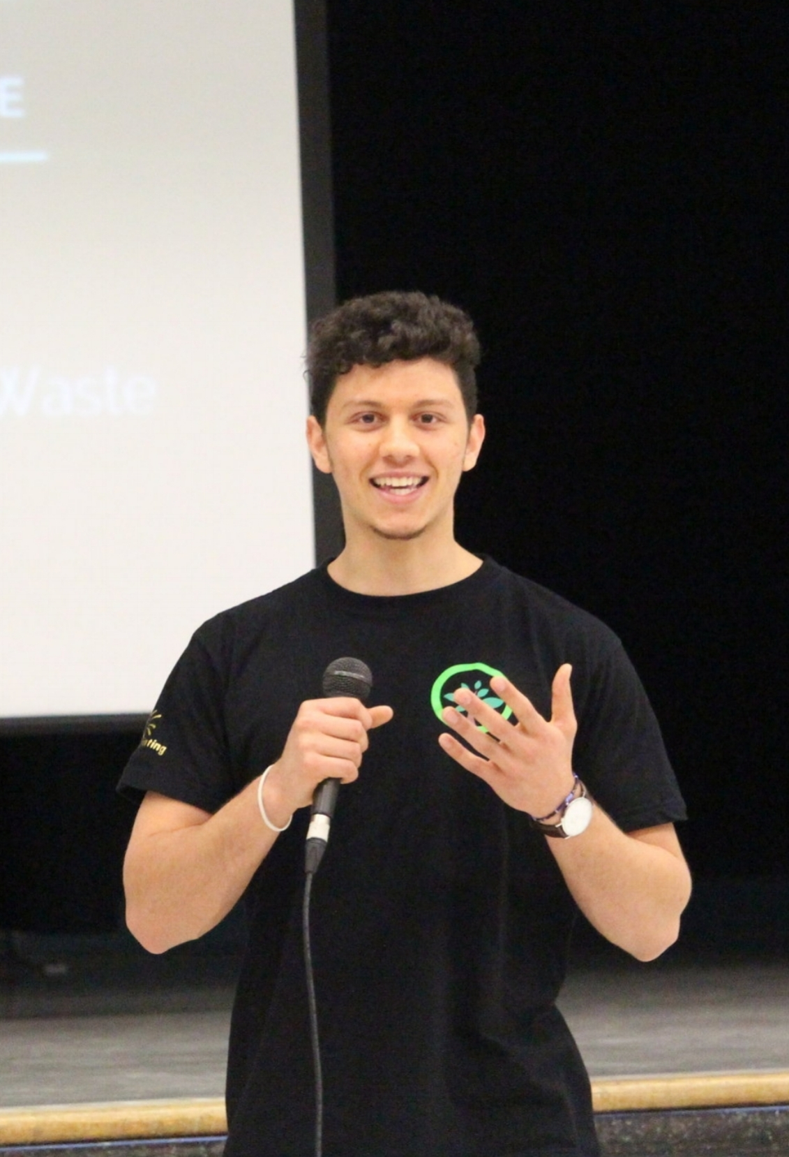 SAM DEMMA - Canadas Top 25 under 25 Environmentalist& Co-Founder of PickWaste