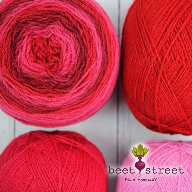 Hello Monday, Hello Beautiful Kauni Effektgarn! ❤️ Kauni EME is a gradient of Red, Hot Pink & Cranberry and is just one of many gorgeous color combinations we offer. Visit our website to see them all! www.beetstreetyarn.com #kauni #beetstreetyarn #wool #gradient #color #knitting #crochet #yarn #localyarnshop