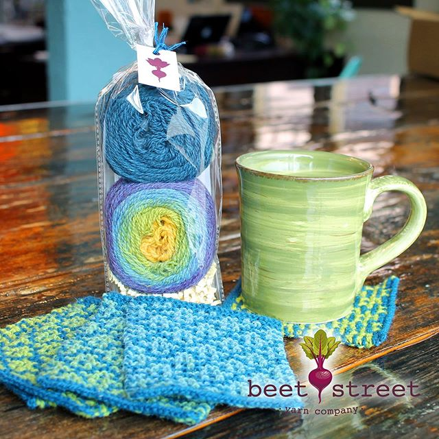 Beet, Drink & Be Merry Kits 🧶 Awesome! Fun! Great gift ideas for all the knitters in your life 🎁 www.beetstreetyarn.com #yarn #yarnkits #yarnshops #localyarnshop #knitting #gifts #giftideas #iloveyarn