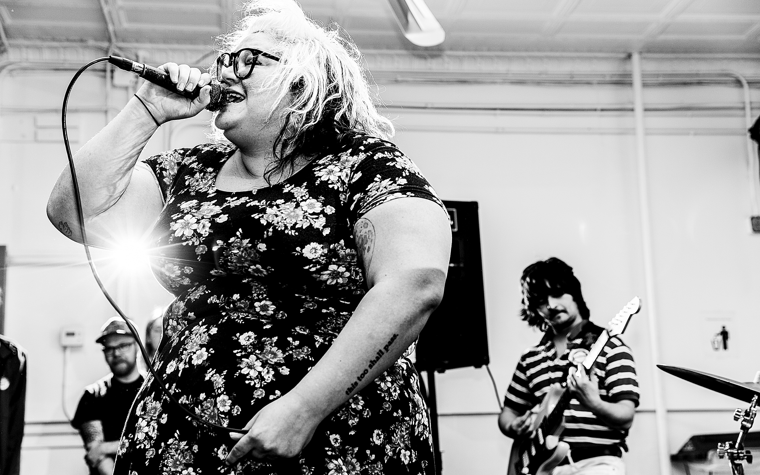 Sheer Mag, Empty Vessels, Coming Down - Westcott Community Center. Syracuse, NY. April 16, 2017