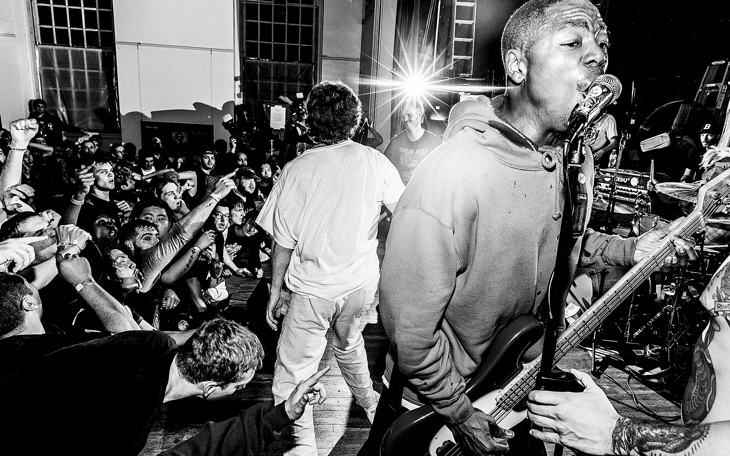 Turnstile, Red Death, Unified Right, Abuse of Power, Dress Code, Razorbumps, Bacchae - All Souls Church. Washington, DC. April 5, 2018
