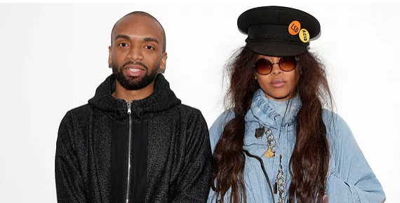 Kerby Jean-Richmond & Erykah Badu: Credit Getty Images