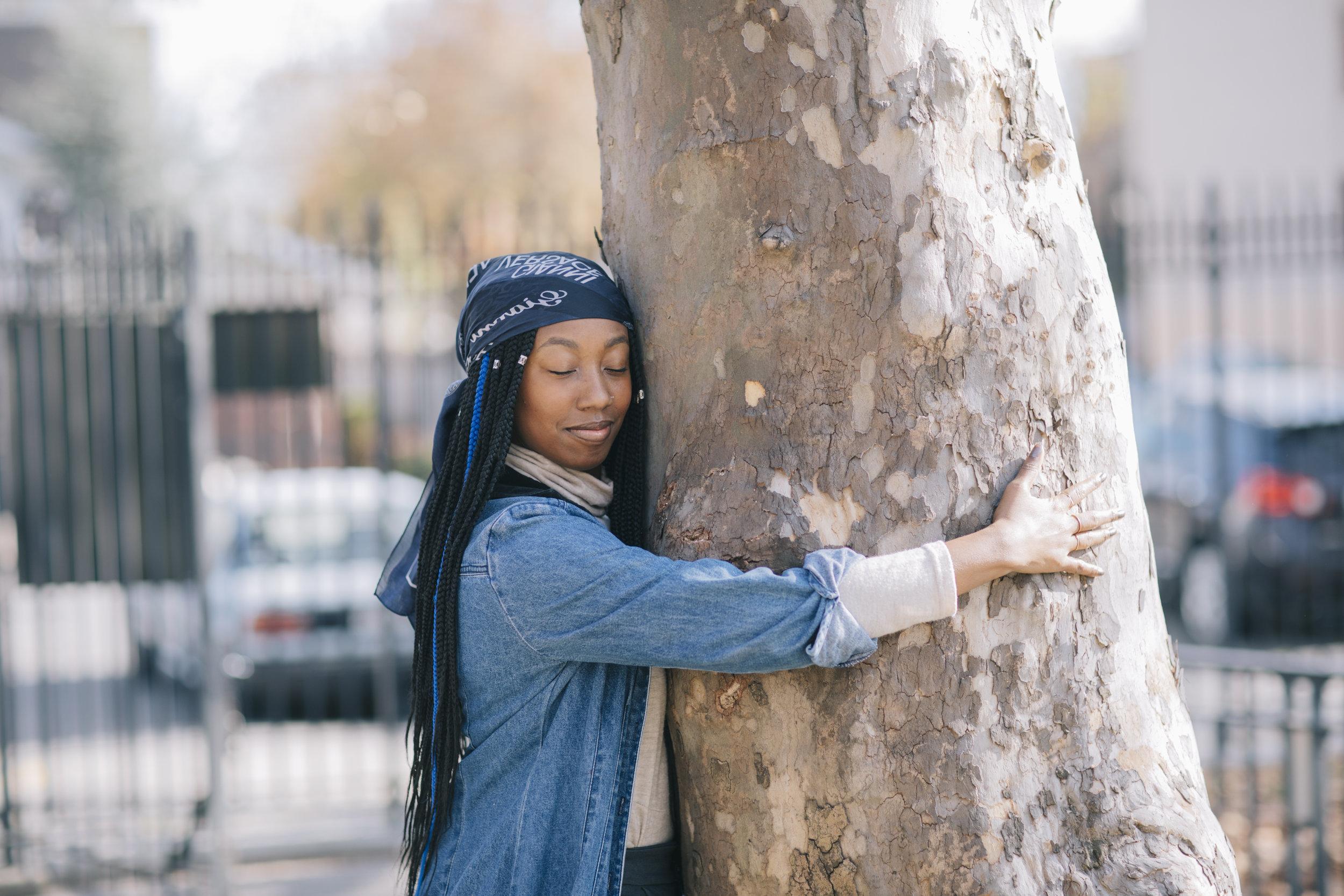 M odern Day Tree Hugger