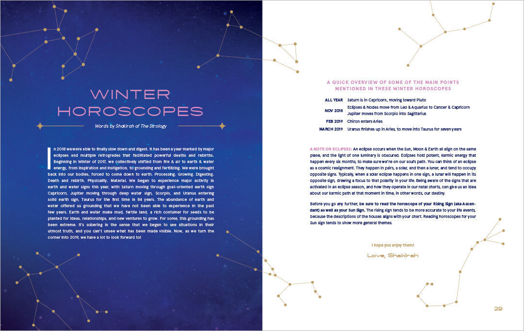 NFLUX: A Culturally Spiritual & Astrology Based Magazine That
