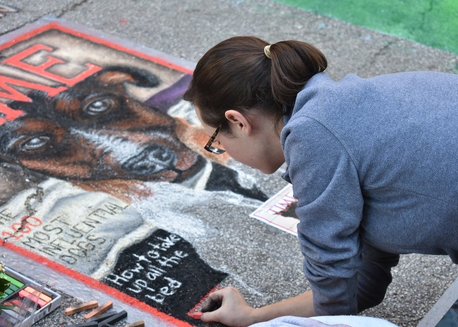 bountiful chalk art festival