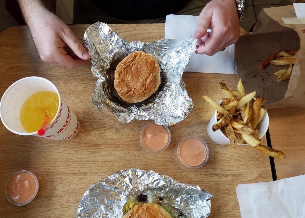 Five Guys Bountiful Lunch Date