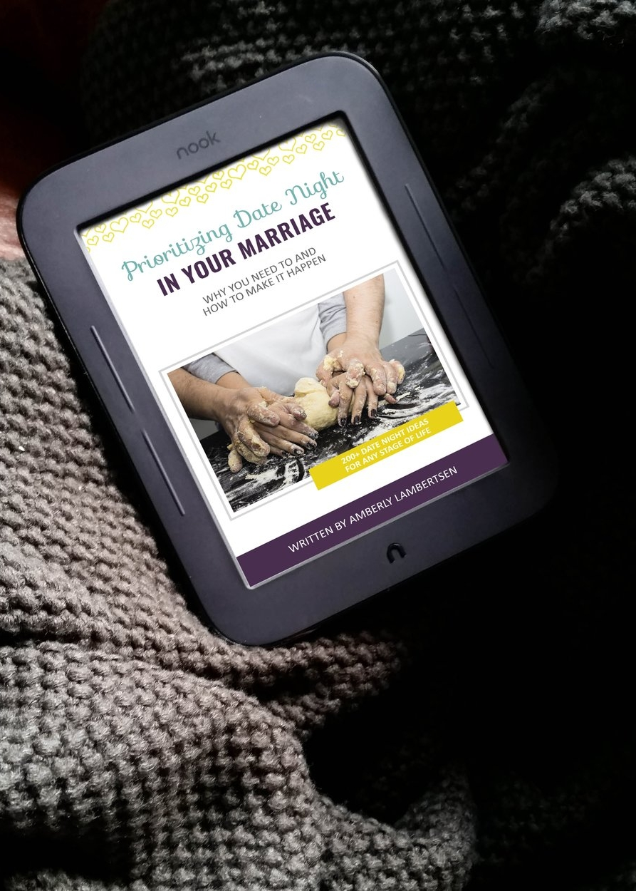 Prioritizing Date Night in Your Marriage Ebook