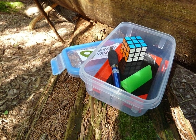 geocache in Davis County