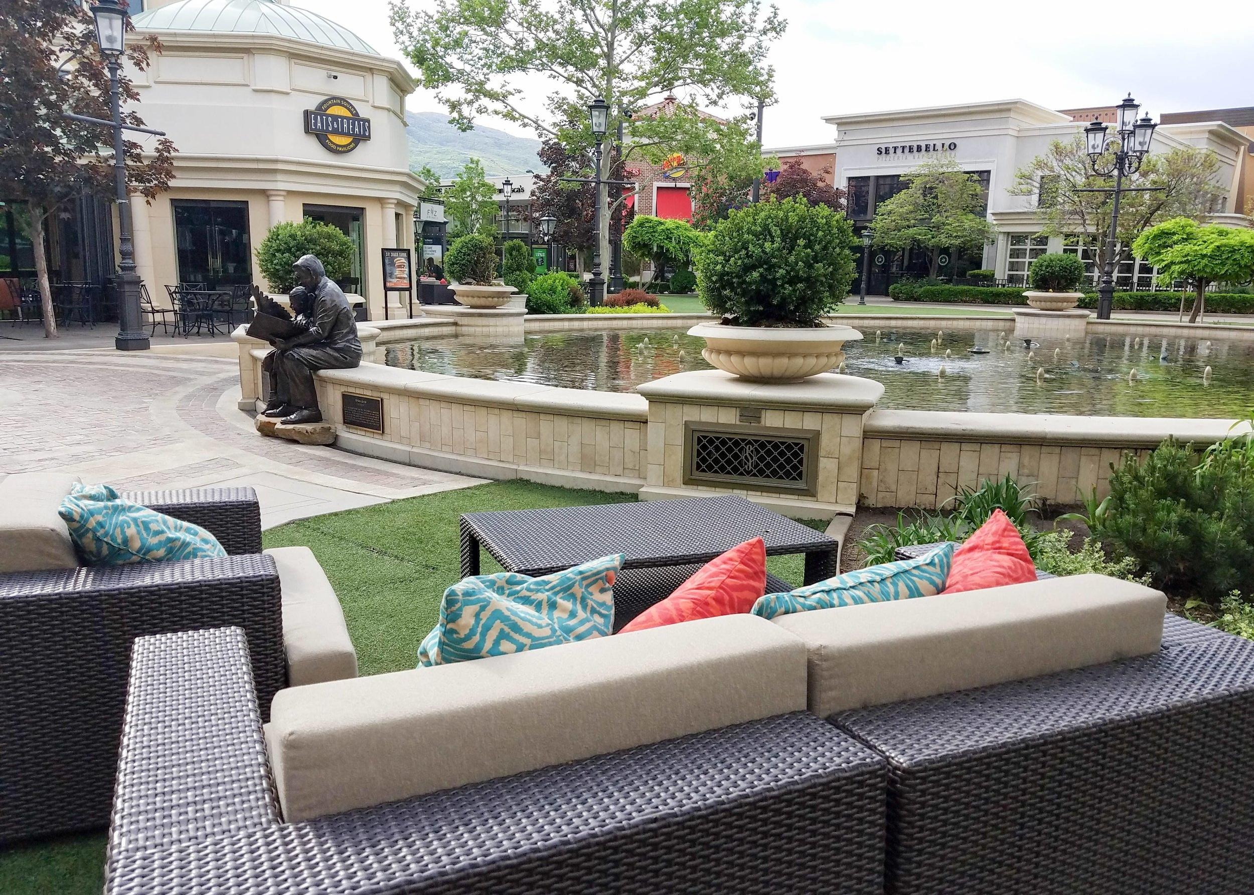 The Fountains at Farmington Station Park