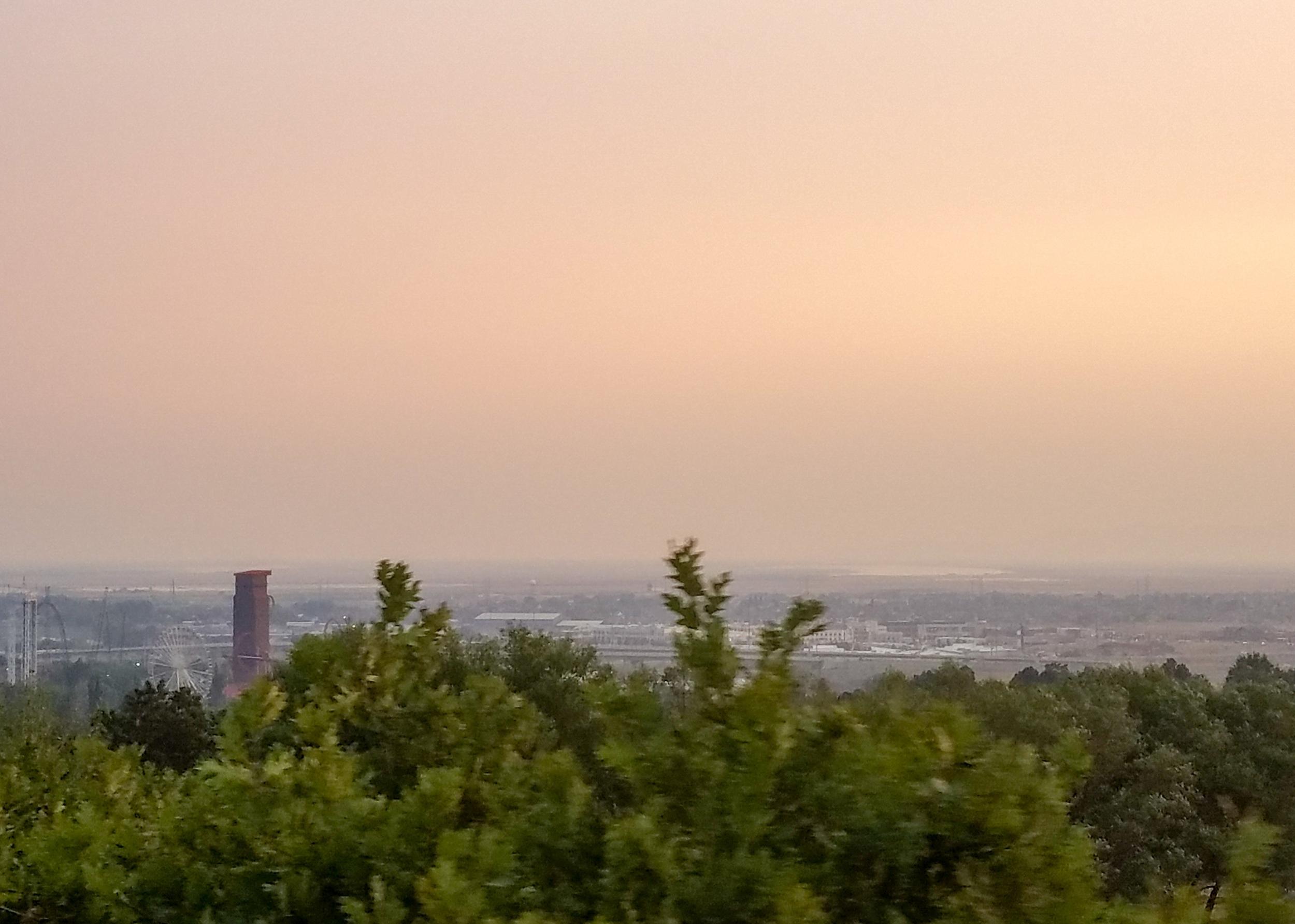 view of Davis County