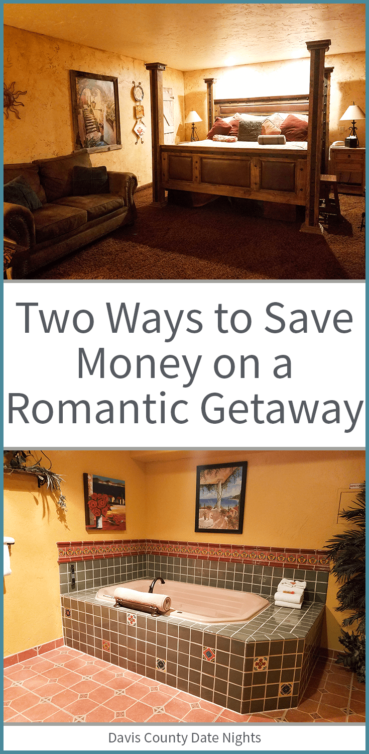 Two things we did that saved us over $150 on our romantic getaway!