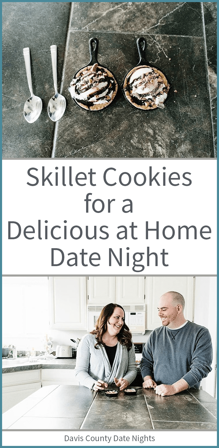A delicious dessert for date night at home