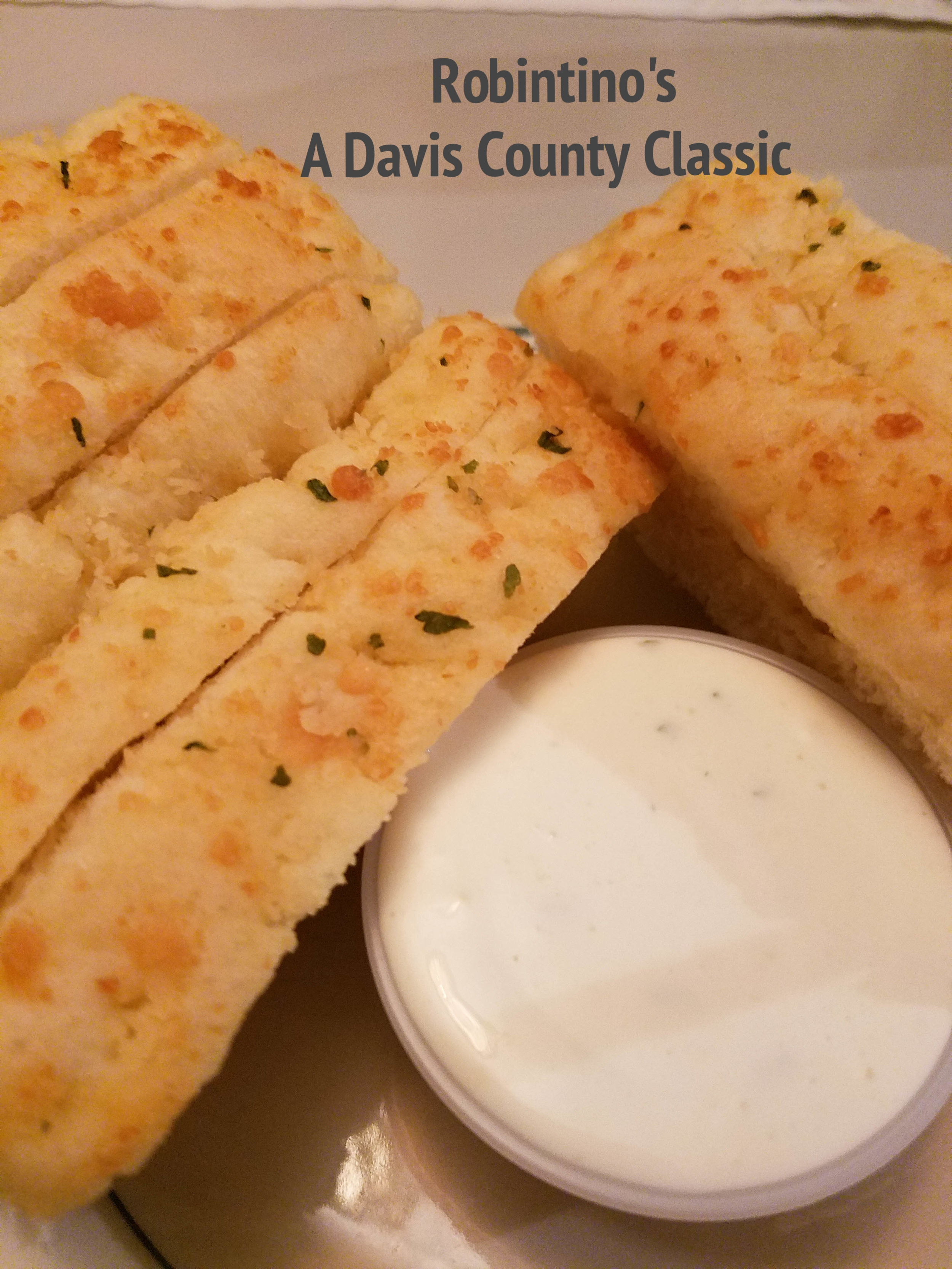 Robintino's in Davis County Utah is a family favorite and a classic stop for date night. Don't forget to order extra breadsticks!