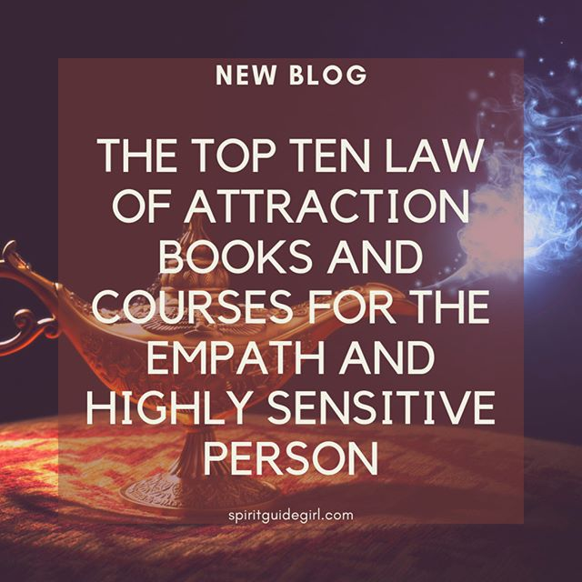 Find the top ten law of attraction books for the Empath and Highly Sensitive Person Here https://bit.ly/2Mr1gMv or click the link in our profile. What are your favorites? #lawofattraction #manifest #abundance #youareareceiver #spiritguidegirl #spirituality #universe #mediums #intuitive #empath #hsp #highlysensitiveperson #empathsbelike #empathic #gratitude #positivevibes #mindset #positivemindset #masteryourmindset #nevillegoddard #freeneville #thepowerofyoursubconsciousmind #abrahamhicks #rhondabyrne #jensincero #pamgrout #sanayaroman #florencescovelshinn