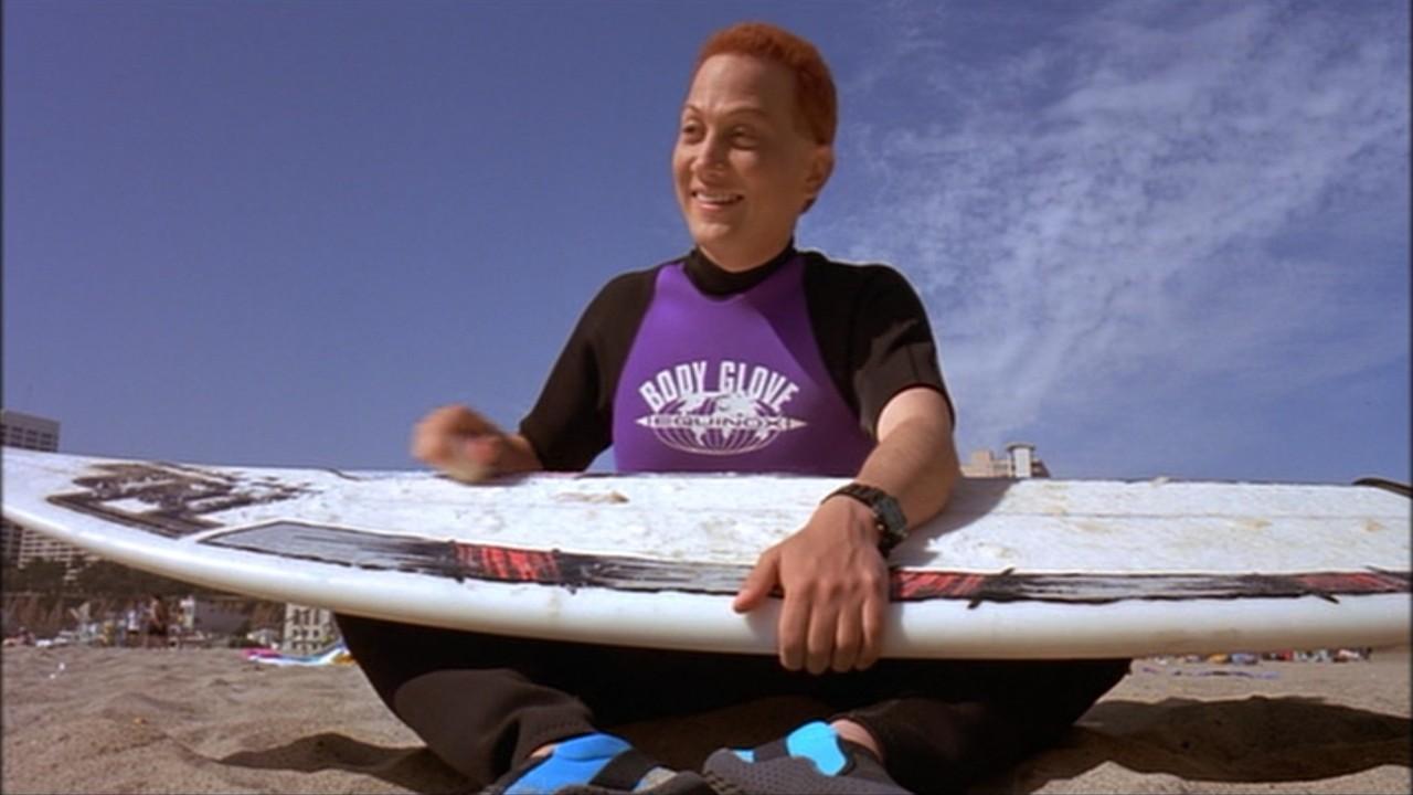 Rob Schneider in the award wining surf ninjas