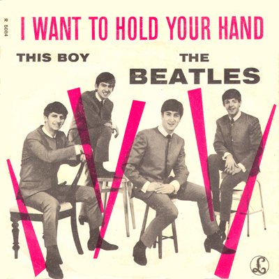 I want to hold your the boy hand the beatles